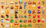 Events Icon Set by nicubunu