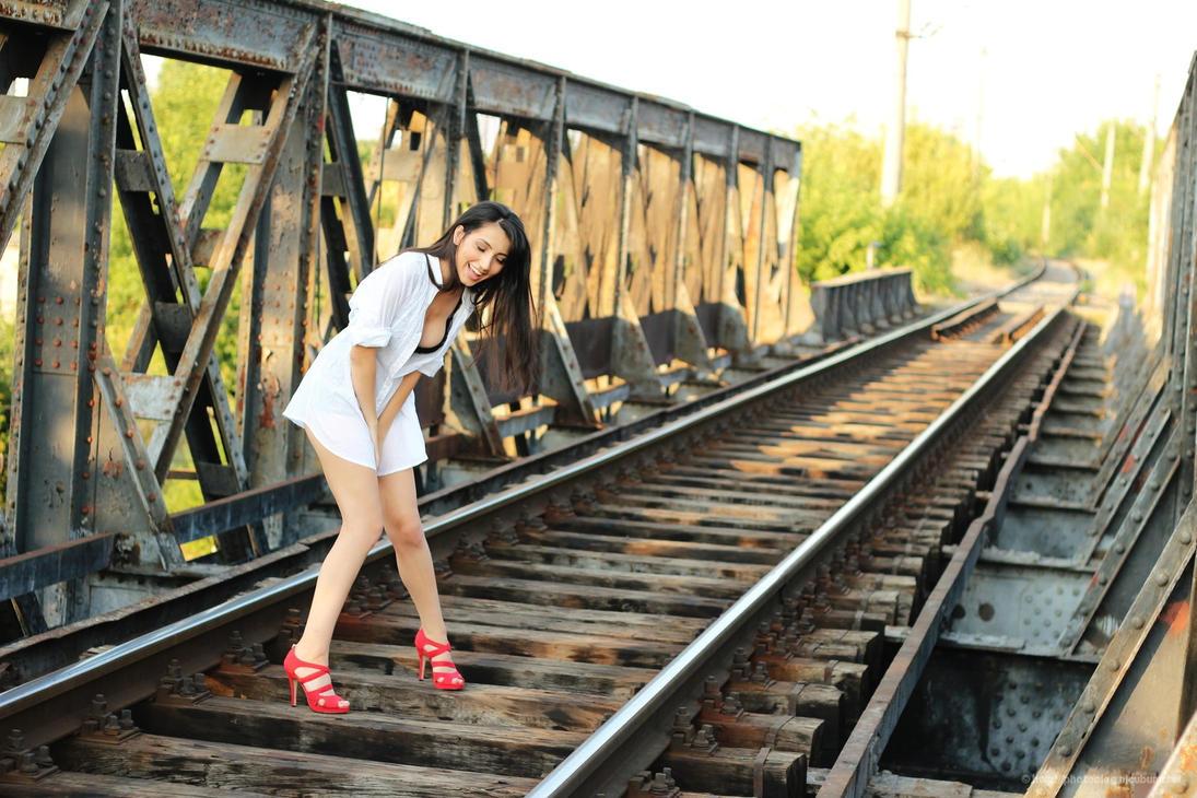 On the bridge by nicubunu