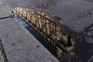 Mirrored world by nicubunu