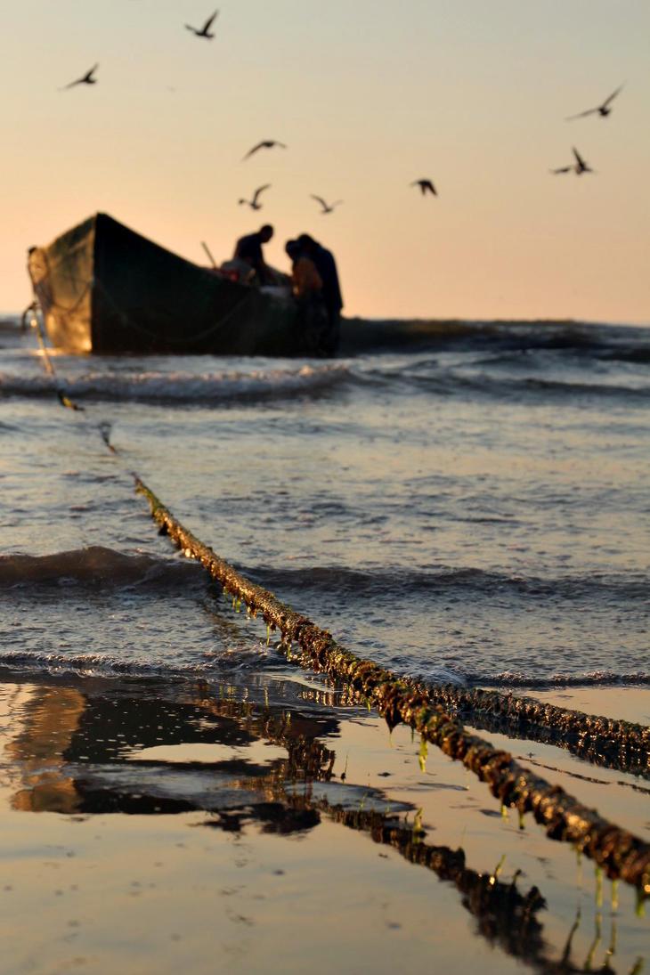 Fishermen by nicubunu