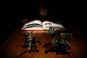 The magic of books by nicubunu