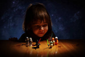 Space girl by nicubunu