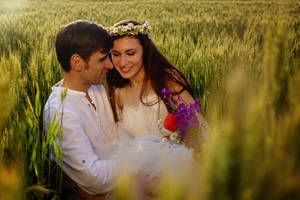 Love in the field by nicubunu