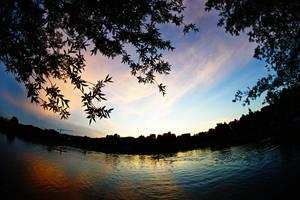 First summer sunset by nicubunu