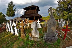 Village church by nicubunu