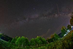 Starry night by nicubunu