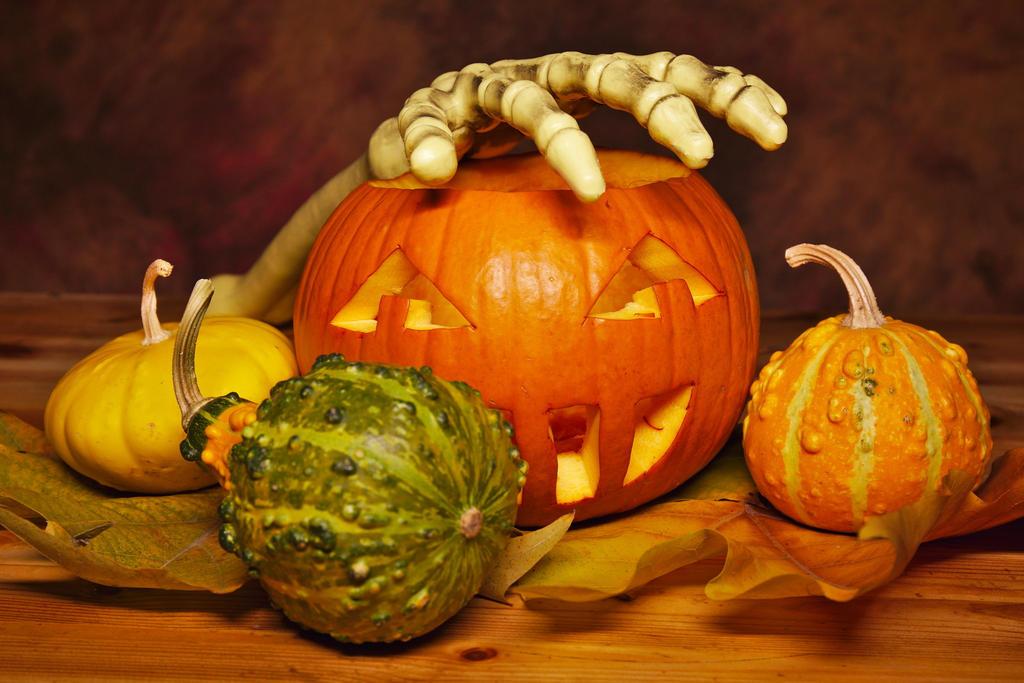 Some pumpkins by nicubunu