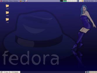 sexy blue - fedora by nicubunu