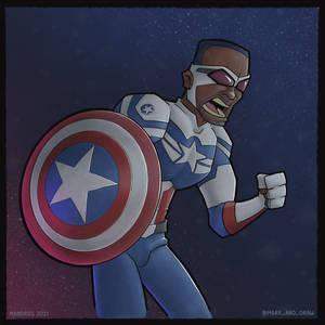 Captain America (fanart)