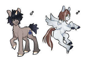 some OC's by cytxus