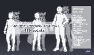 [P2U] Furry/Humanoid Base Pack