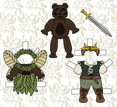 Bear Paper Doll Boy 1 by rockafellow