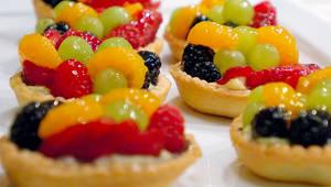 Cafe Aquaria Fruit Tarts