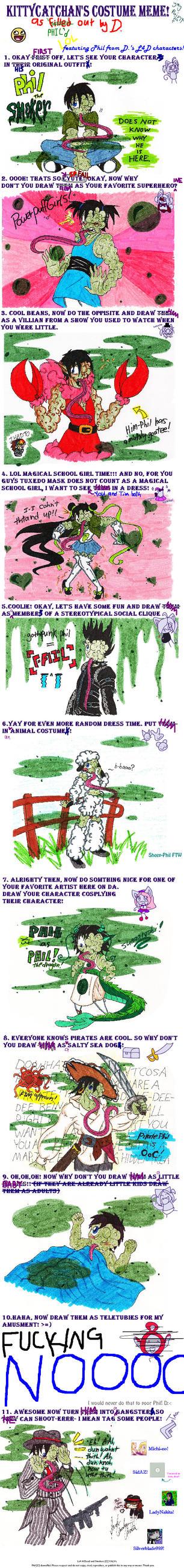 Costume Meme + Left 4 Dead by brass-kettle