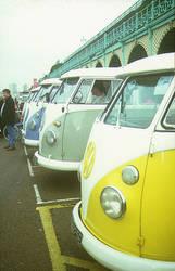 VW Type 2 Splits at Brighton