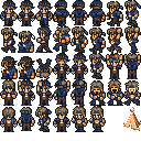 (unfinished) Locke FF6 Amano edit