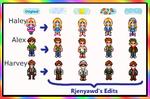 Stardew Valley Seasonal Characters Mod