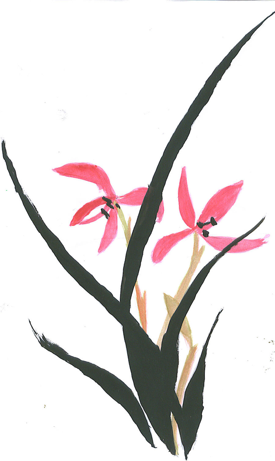 Easy Chinese Bamboo Painting | www.imgkid.com - The Image ...