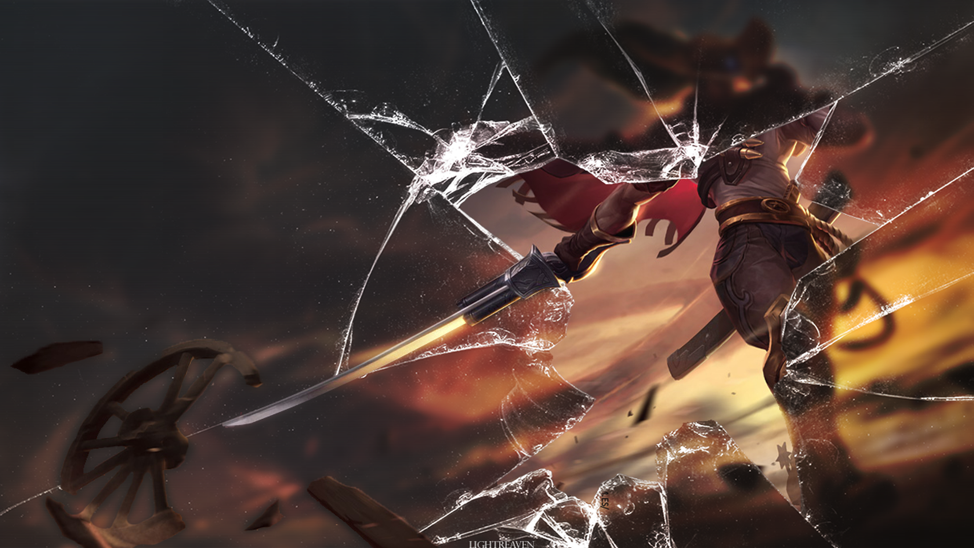 high noon yasuo live wallpaper