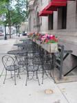 Deserted Cafe