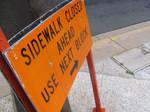 The City: Sidewalk Closed