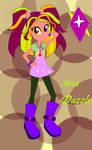 Aria Dazzle equestria girls version