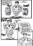 How to educate a muscular baby vol1 sample3