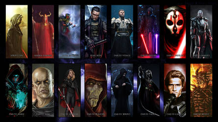 Great Sith over the Ages