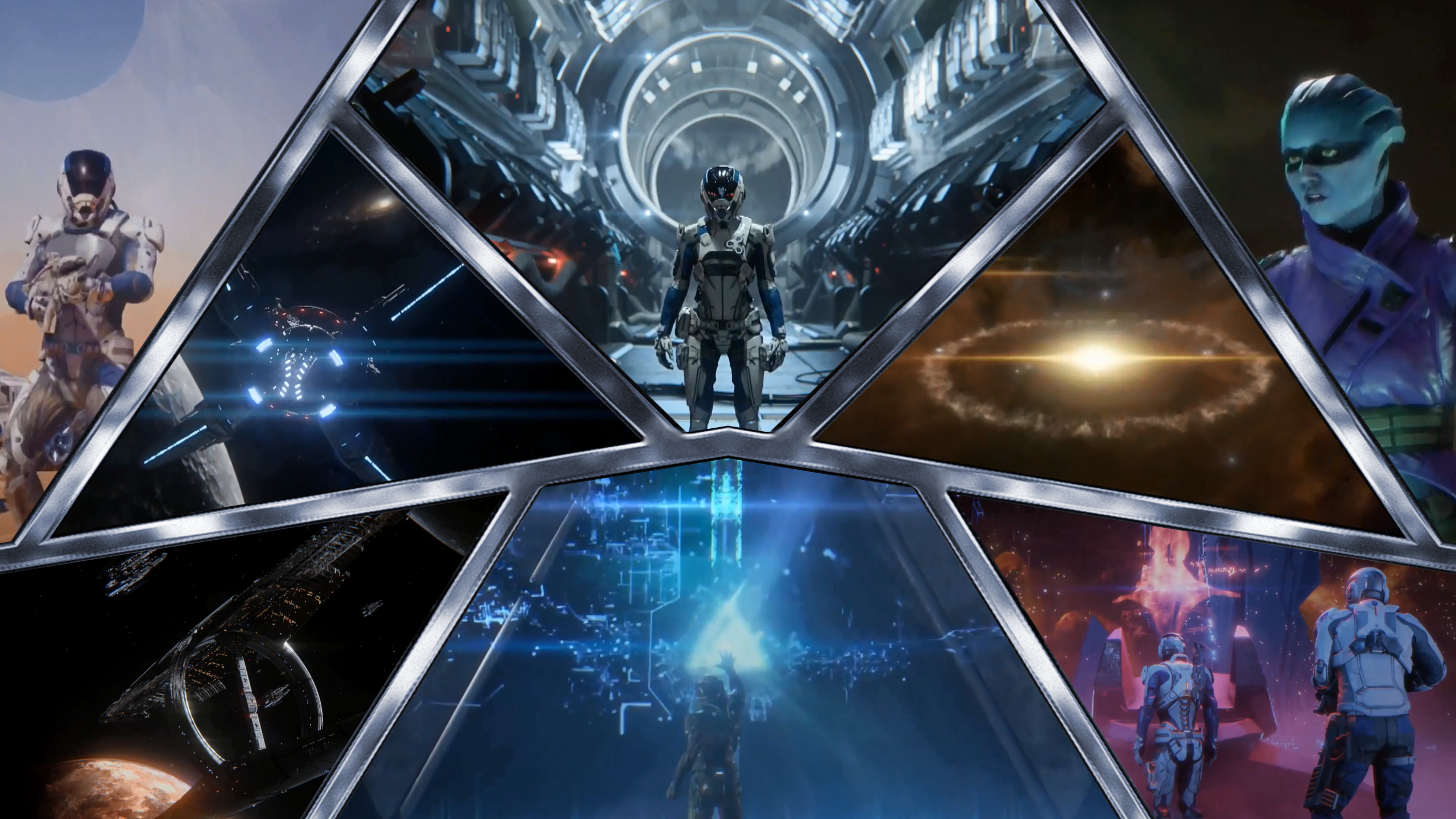 Mass Effect Andromeda Wallpaper: Mass Effect Andromeda Arkship Wallpaper By Hyperion127 On