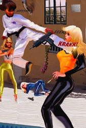 Dragon Ayako in action no 1 by shadono