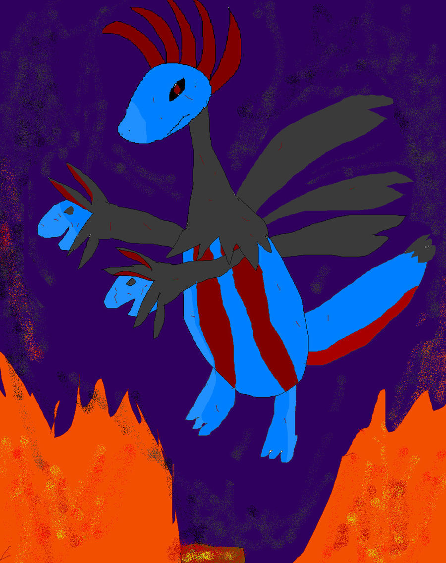Hydreigon (SCRAPPED) by PokeLover456