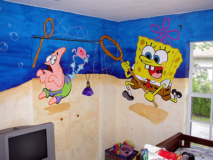 Sb kids room mural p2 by talliah697788 on deviantart for Mural kids room