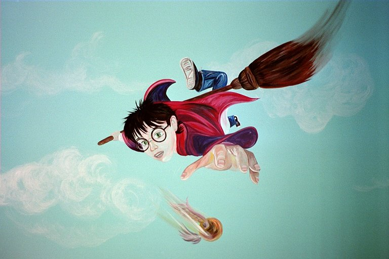 Harry Potter Wall Mural By Talliah697788 ...