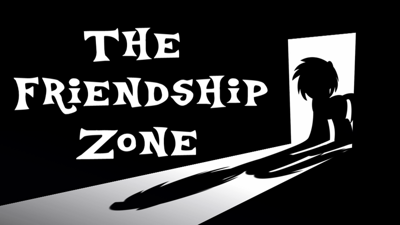The Friendship Zone Title Card Art by BlueRav3Pony