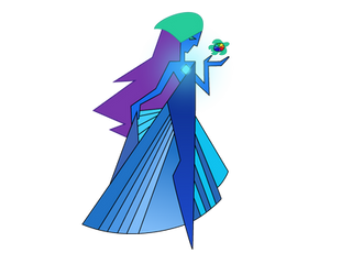 Cellspex as Blue Diamond by BlueRav3Pony