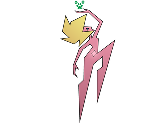 Sweetie Bloom as Pink Diamond by BlueRav3Pony