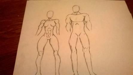 Body practice by HalfRail