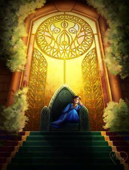 Child Queen Nerhil Salvian