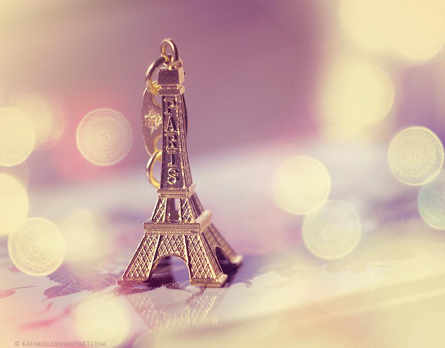 Cute Greetings From Paris By Katari01