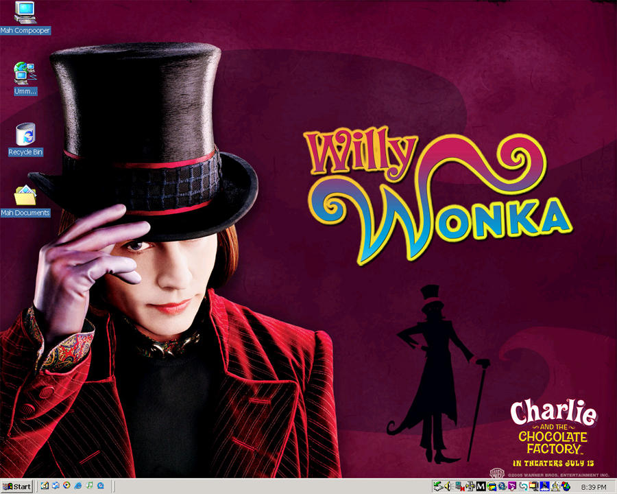 Willy Wonka by DeathOfThePure