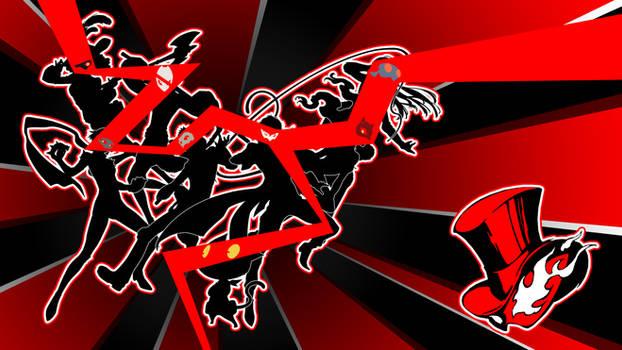 Persona 5 ''Phantom Thieves'' Wallpaper