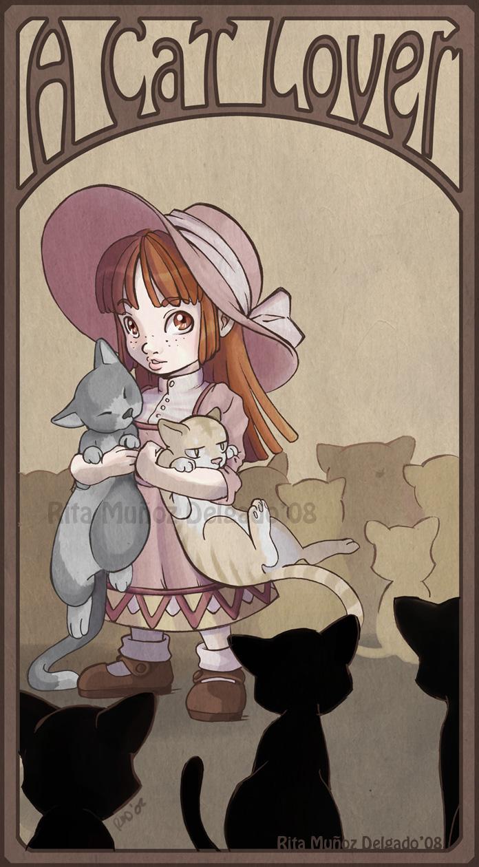 A cat Lover by MilkyNeko