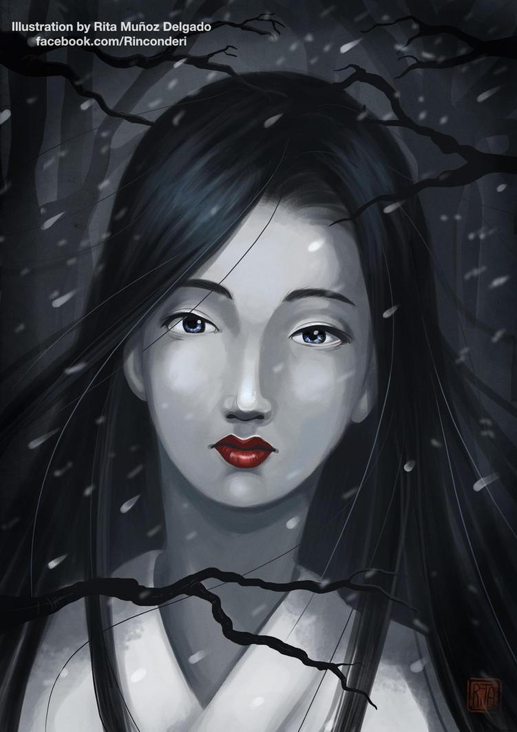 Fuyu: Yuki Onna by MilkyNeko