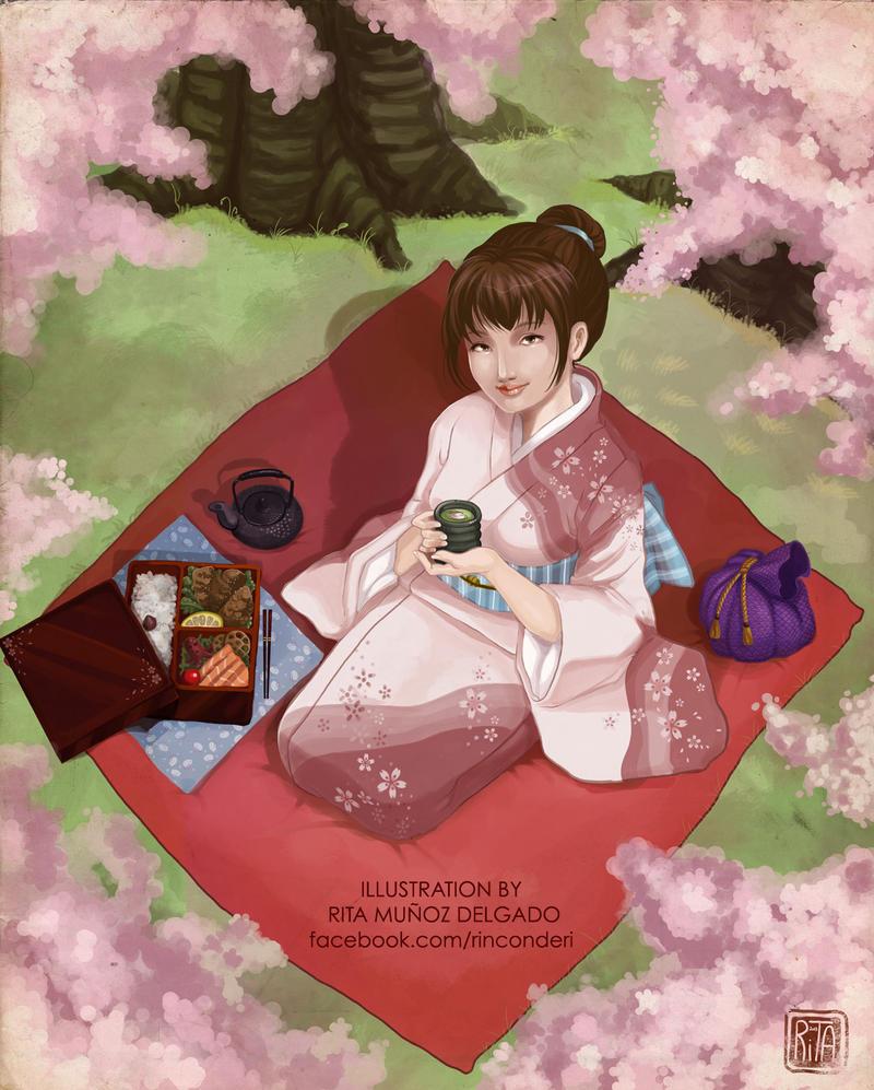 Haru -Hanami- by MilkyNeko