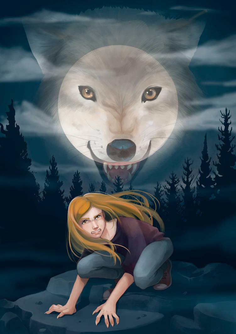 Amber silverblood book cover by MilkyNeko