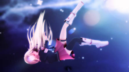 MMD : IA Fall ...(Picture HD ) by xWolly
