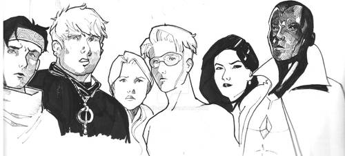 Young Avengers by sarah-mcg