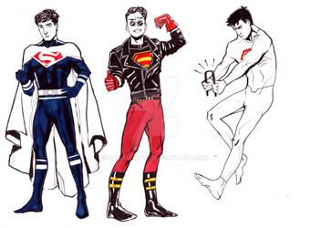The Superboy(s): Part I by sarah-mcg