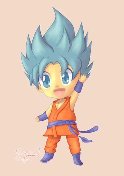 Chibi Goku by QU1NT3R0