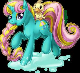 Dewdrop Dazzle by ShinePawPony